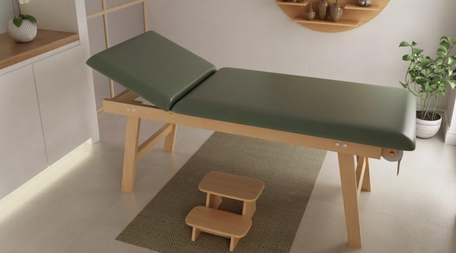 lettino legno massaggio
